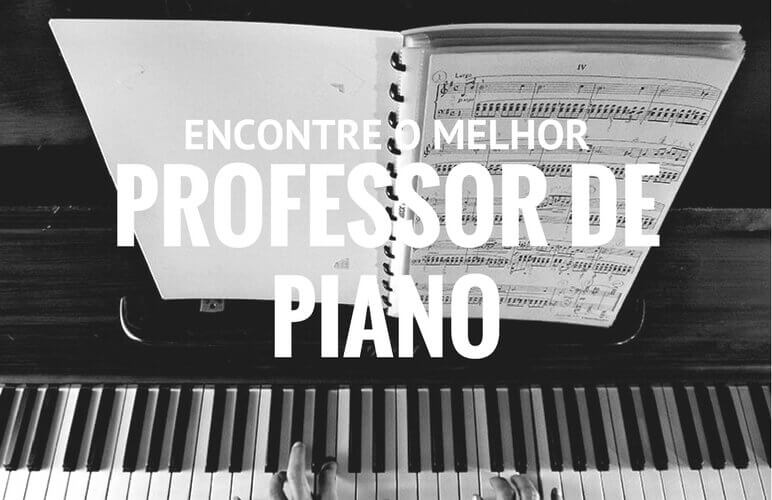 professor de piano