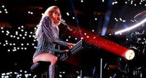 Lady Gaga piano