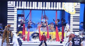Vai-Vai homenageia piano no Carnaval de SP