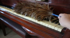 limpar piano