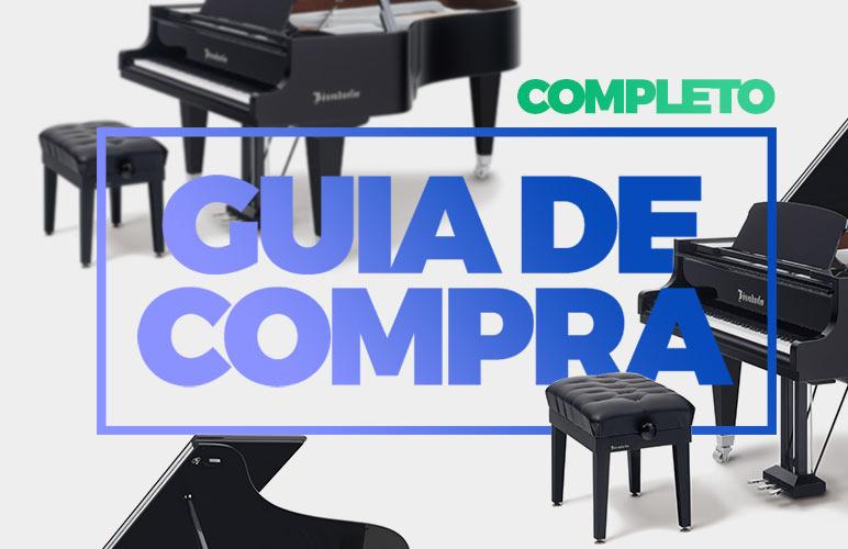 GUIA COMPLETO DE COMPRA DE PIANO E TECLADO