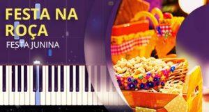 Como tocar Festa na Roça no piano