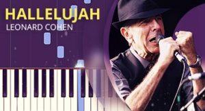 Como tocar Hallelujah no piano