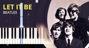 Como tocar Let It Be no piano