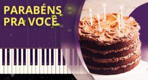 Como tocar Parabéns pra Você no piano