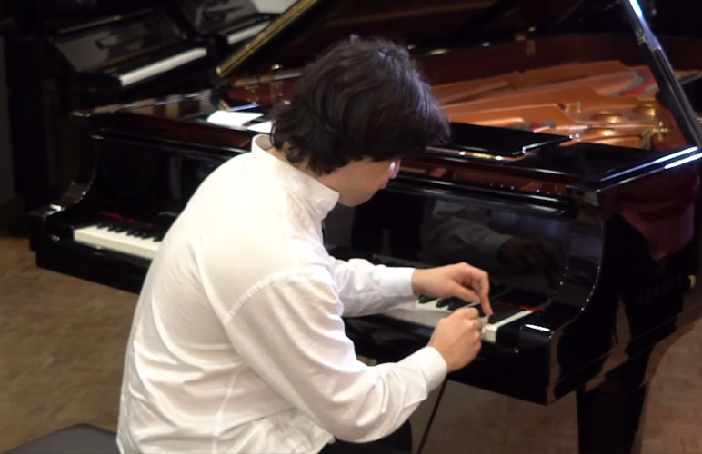 Pianista entra para o Guinness World Records
