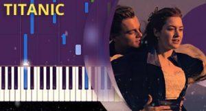 Como tocar tema de Titanic no piano