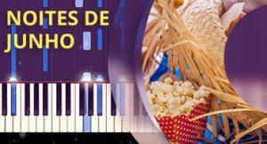 Como tocar Noites de Junho no piano