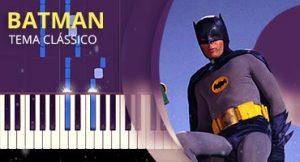 Como tocar tema de Batman no piano (Tema)