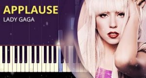 Como tocar Applause no piano