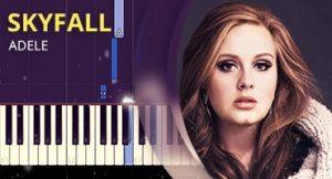 Como tocar Skyfall no piano