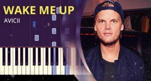 Como tocar Wake me Up no piano