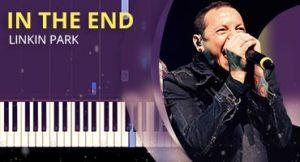 Como tocar In the End no piano