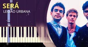 Como tocar Será no piano