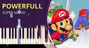 Como toca tema do Super Mario (Estrelinha) no piano