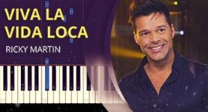 Como tocar Viva la Vida Loca no piano
