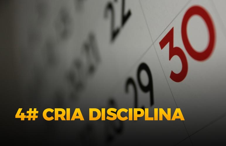Cria a disciplina