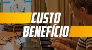 Um curso de piano online e seu custo benefício