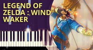 Como tocar tema de Legend of Zelda no piano