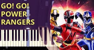 Como tocar tema de Power Rangers no piano