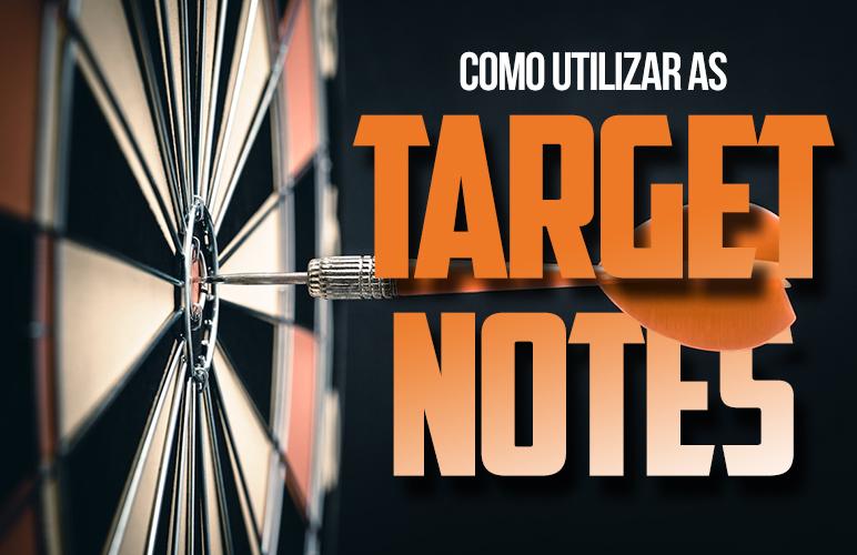 Como utilizar as Target Notes em uma música?